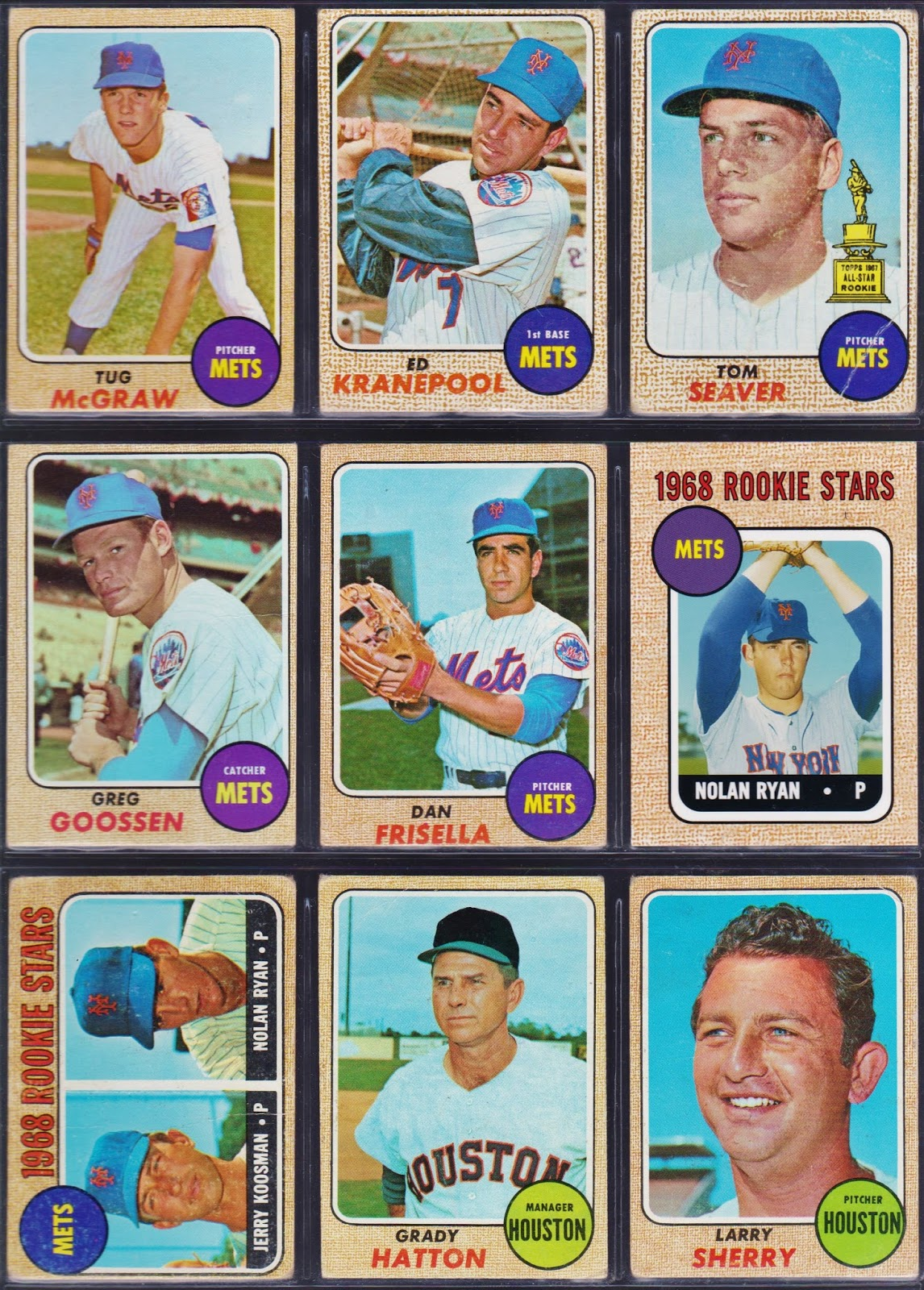 20th Century Topps Baseball Completing The 1968 Topps