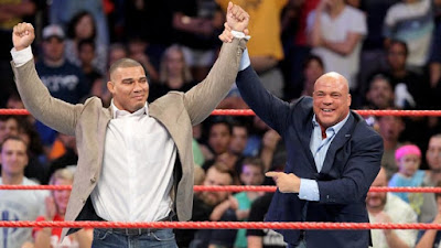 Kurt Angle Family Son Secret WWE Raw Jason Jordan Chad Gable