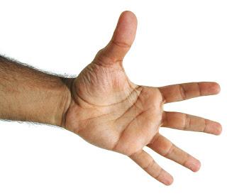 Oração dos 5 dedos – Papa Francisco