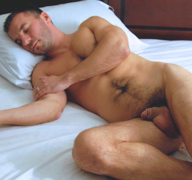 Guy Sleeping Naked Male Sharing