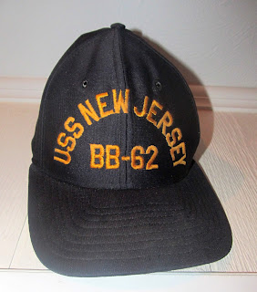 USS New Jersey ball cap