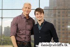 Daniel Radcliffe on Anderson