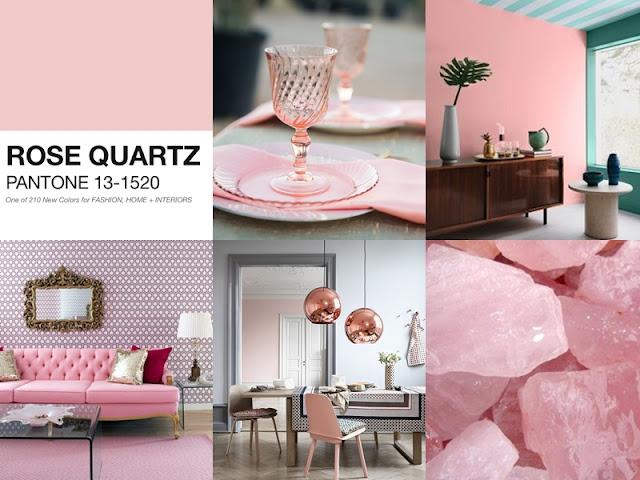 Rose Quartz Pantone 2016 - Asturias Tapicería Carrasco