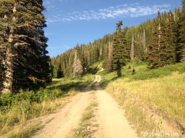 Hiking to Shadow Lake via Guardsmans Pass