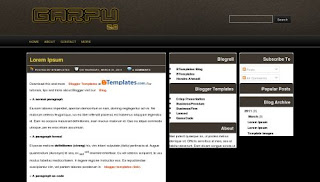Garpu Blogger Template