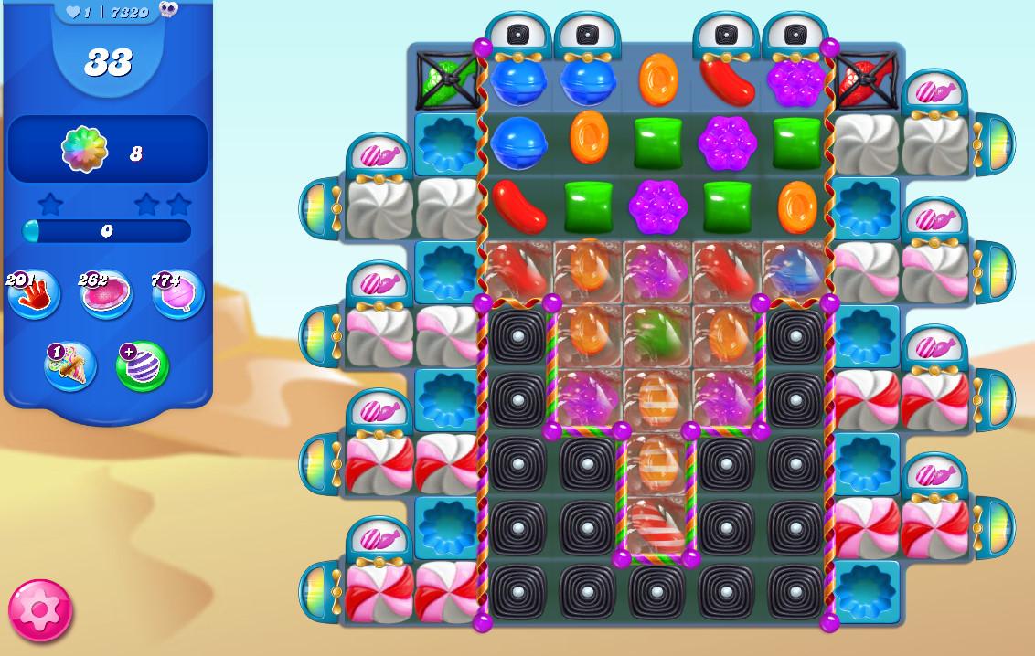Candy Crush Saga level 7320