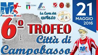 CLASSIFICA Trofeo Città di Campobasso 2016