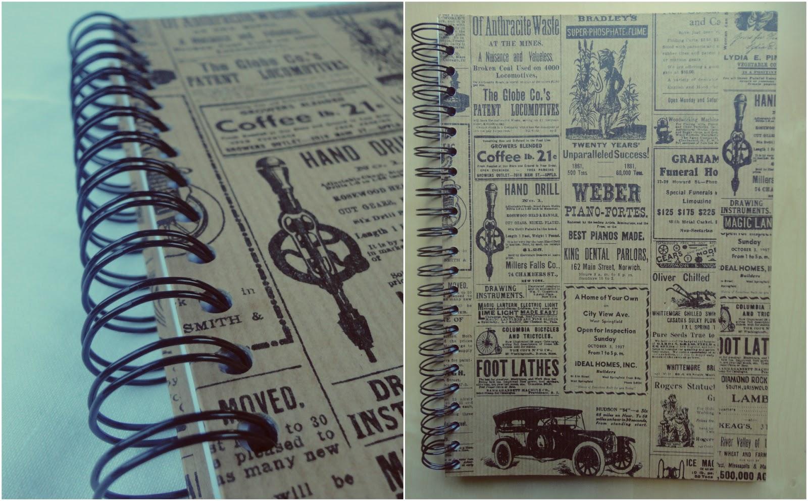 ☼ Notatnik blogowy/DIY