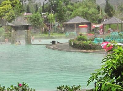 Kolam pemandian air panas
