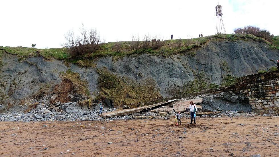 efectos del temporal en sopelana febrero