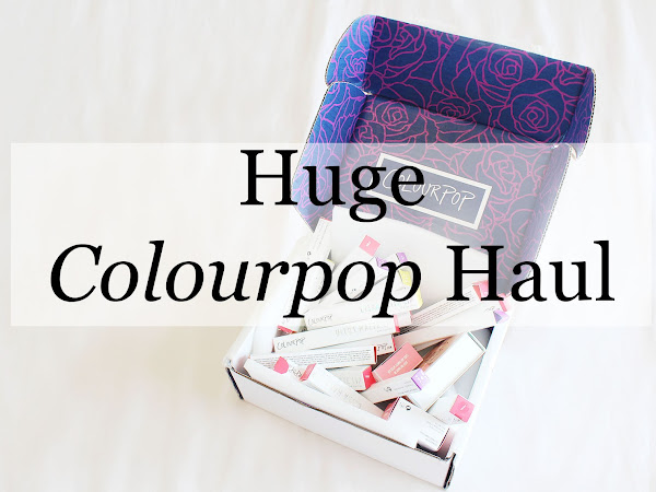 HUGE Colourpop Haul - including swatches!