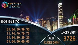 Prediksi Angka Togel Hongkong Rabu 12 Desember 2018