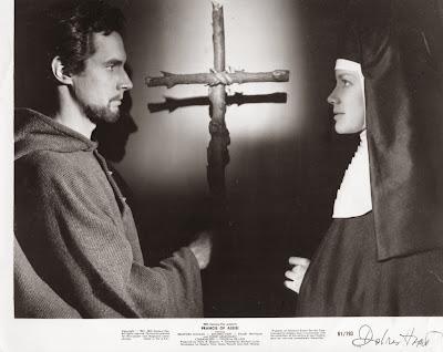 """Resultado de imagem para atriz  Dolores Hart, filme """"Francisco de Assis"""""""