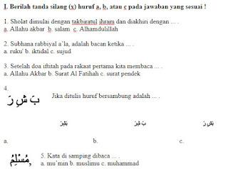 Soal-Ujian-Agama-Islam-Ulangan-Semester-2-UAS-PAI-kelas-2-SD