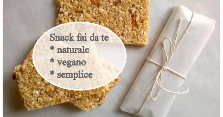 Merende fai da te per bambini: lo snack vegano, goloso e naturale