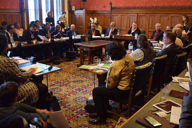 Suasana Sidang di Westminster, London