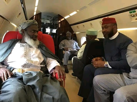 See Atiku's Team To OBJ's House Inside His Private Jet
