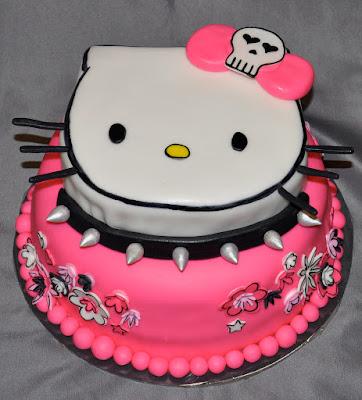 Gambar Kue Hello Kitty Cake Happy Birthday Ulang Tahun