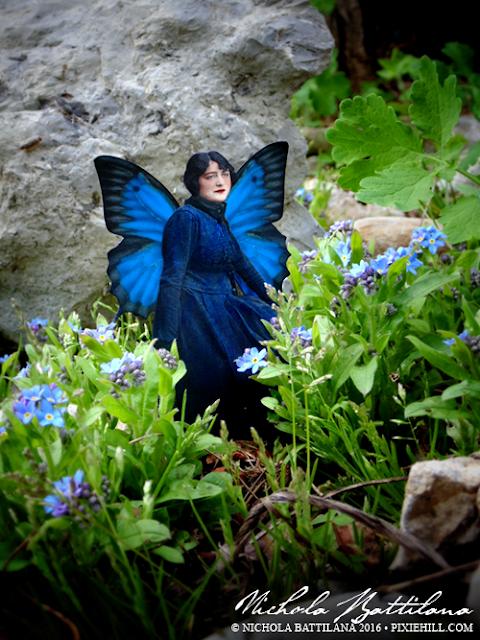Pixie Hill Garden Faerie - Nichola Battilana