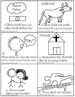 Church House Collection Blog: 10 Commandments Bible