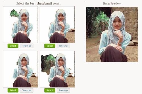Cara menghapus Background Foto secara Online