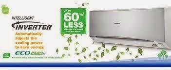 điều hòa Panasonic  giúp tiết kiệm ít nhất 60% điện năng