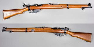 Lee Enfield .303 Bolt-action rifle.