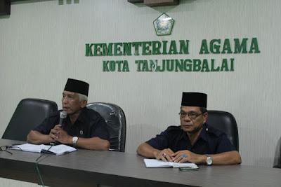 Kemenag Tanjungbalai Gelar Rapat Jelang Audit Irjend