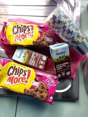 Resepi Cupcakes Chipsmore (2 bahan sahaja)