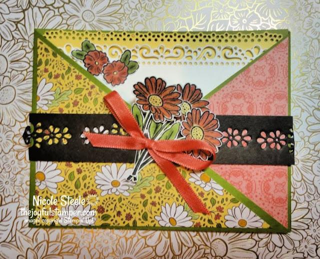 Ornate Garden Pocket Card | Project #5 in the Ornate Garden Suite Mega Tutorial Bundle | by Nicole Steele The Joyful Stamper