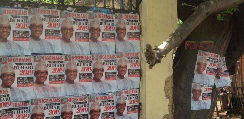 Buhari campaign poster 2019