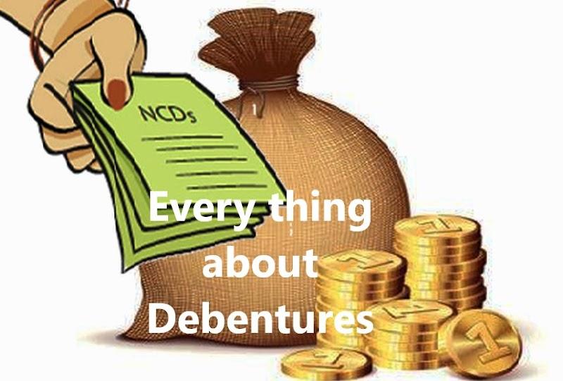 What is debenture?,  Different kinds of debentures.