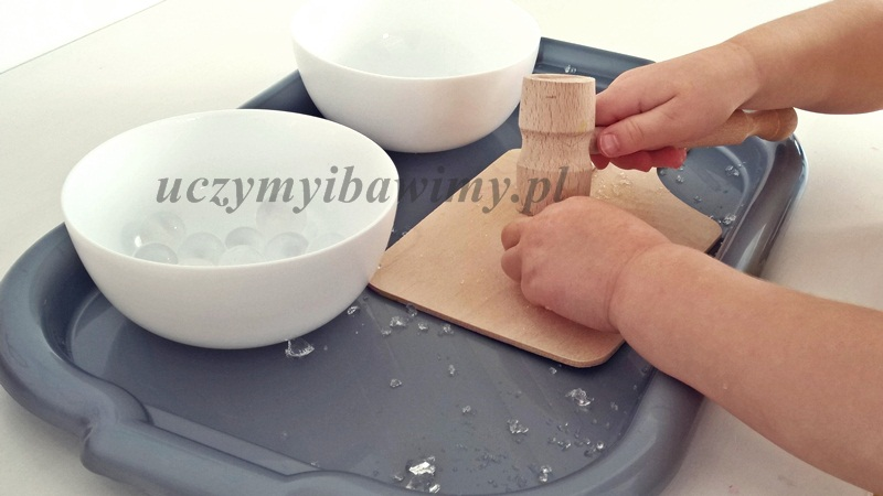 Wzmacnianie mięśni rąk - zabawa