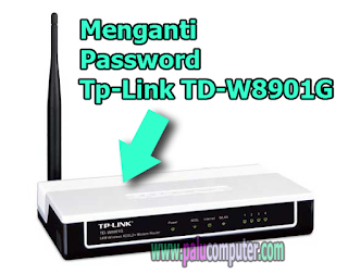 cara rubah password tp link