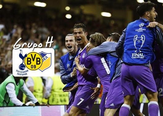 Group H, Real Madrid, Borussia, Apoel, Tottenham