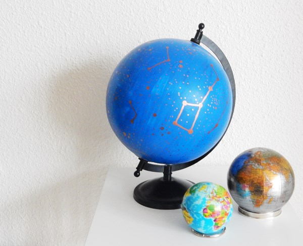 DIY : Un globe à constellations