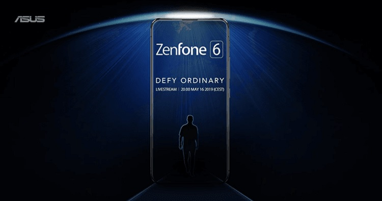 ASUS to Launch ZenFone 6 on May 16