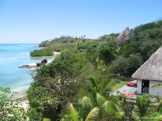 Fiji, South Pacific, Yaqeta Island, Navutu Stars, bure, beach
