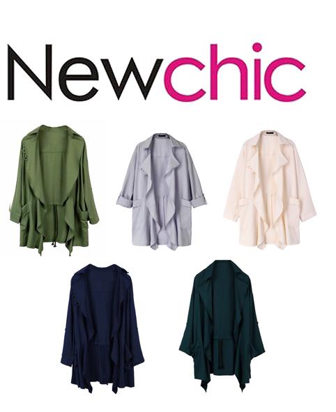 NewChic Cape Blouse