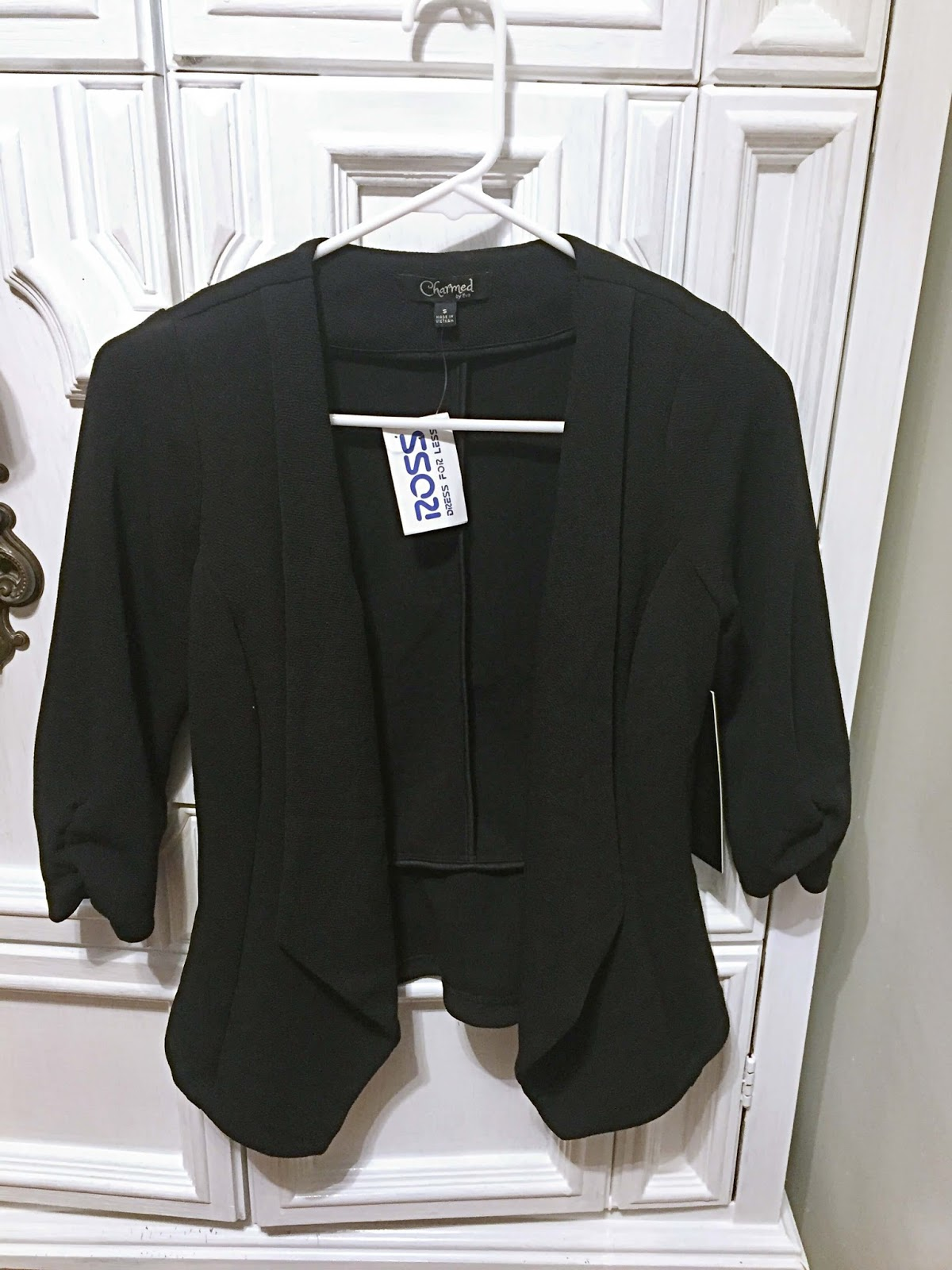 Charmed by Eve professional jacket