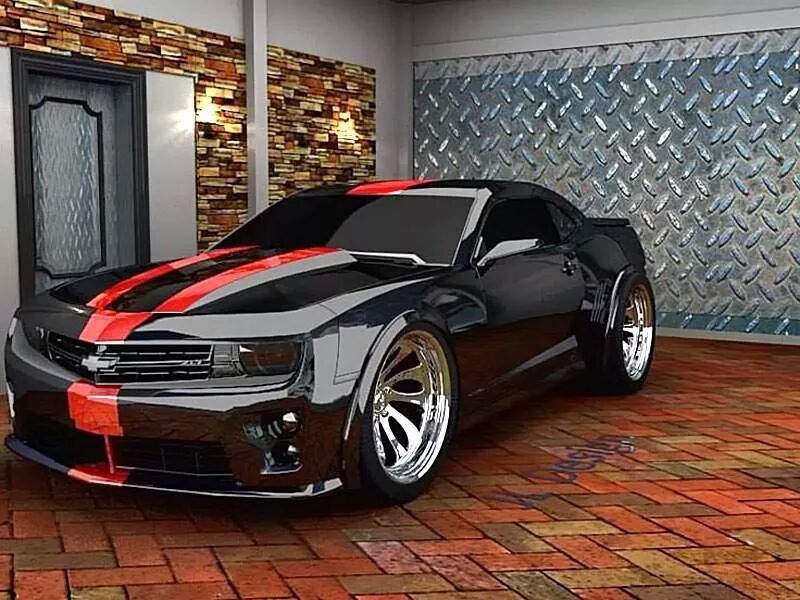 First Choice Wheels And Tires Perfect Camaro With Super
