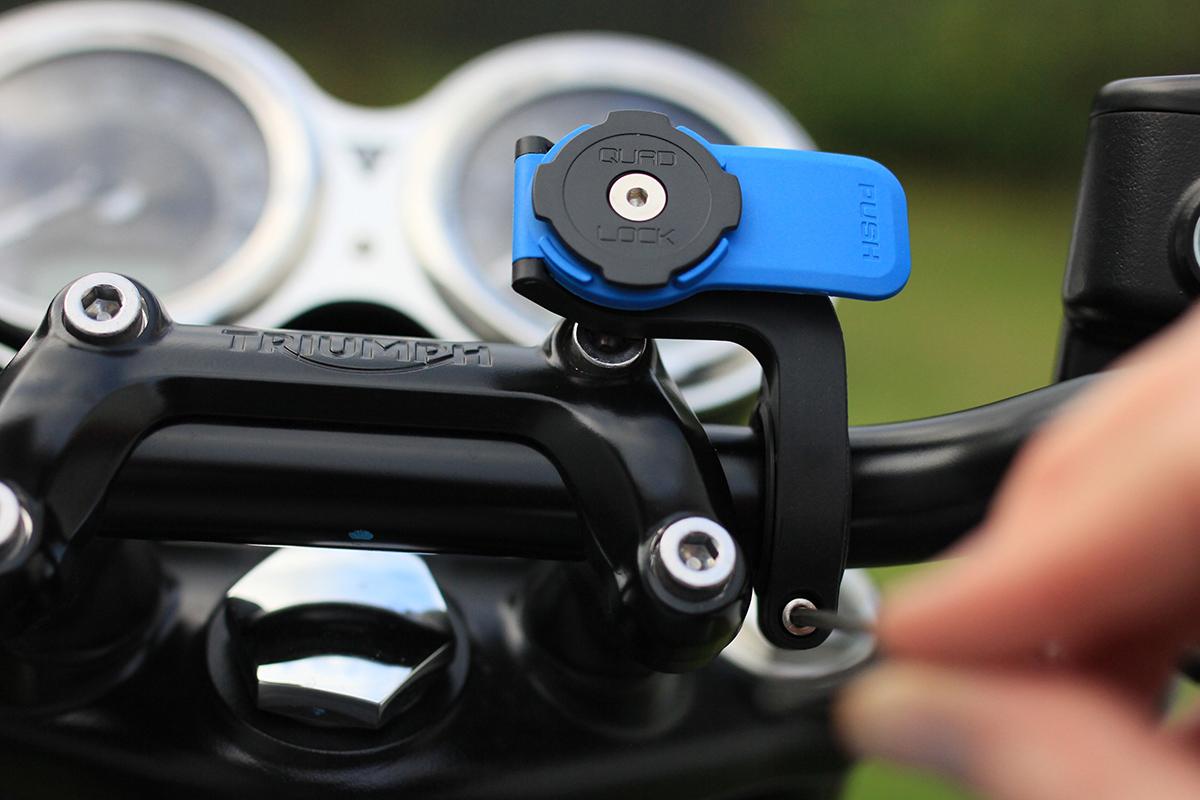 Quad Lock Iphone Motorcycle