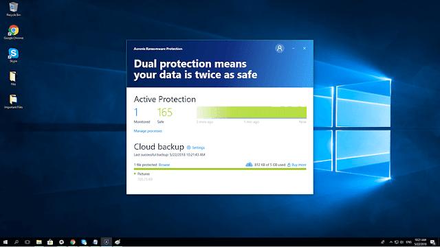 cadangan cloud perlindungan aktif acronis