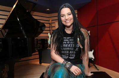 Amy Lee lanzará un álbum alejado del rock