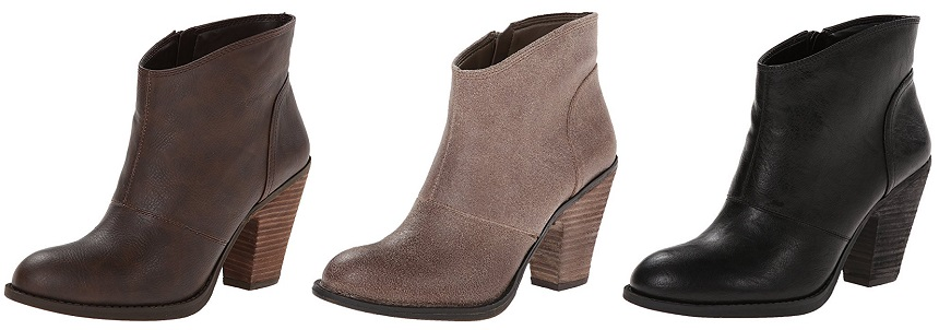 Jessica Simpson Maxi Ankle Booties $29-$47 (reg $89)