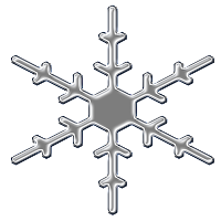 FREE DIGITAL SCRAPBOOK SNOWFLAKE ELEMENTS