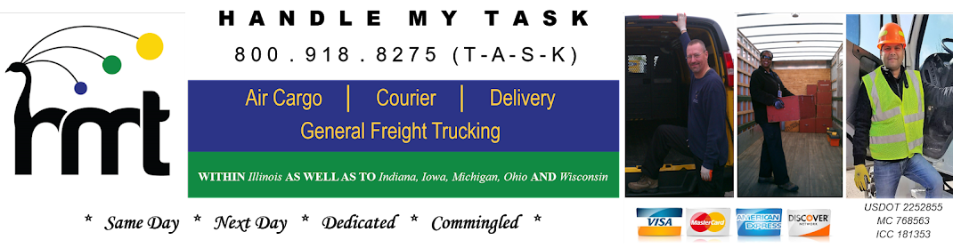 Handle My Task, Inc:  24-Hour Same Day Air Cargo, Courier, Delivery And General Freight Trucking