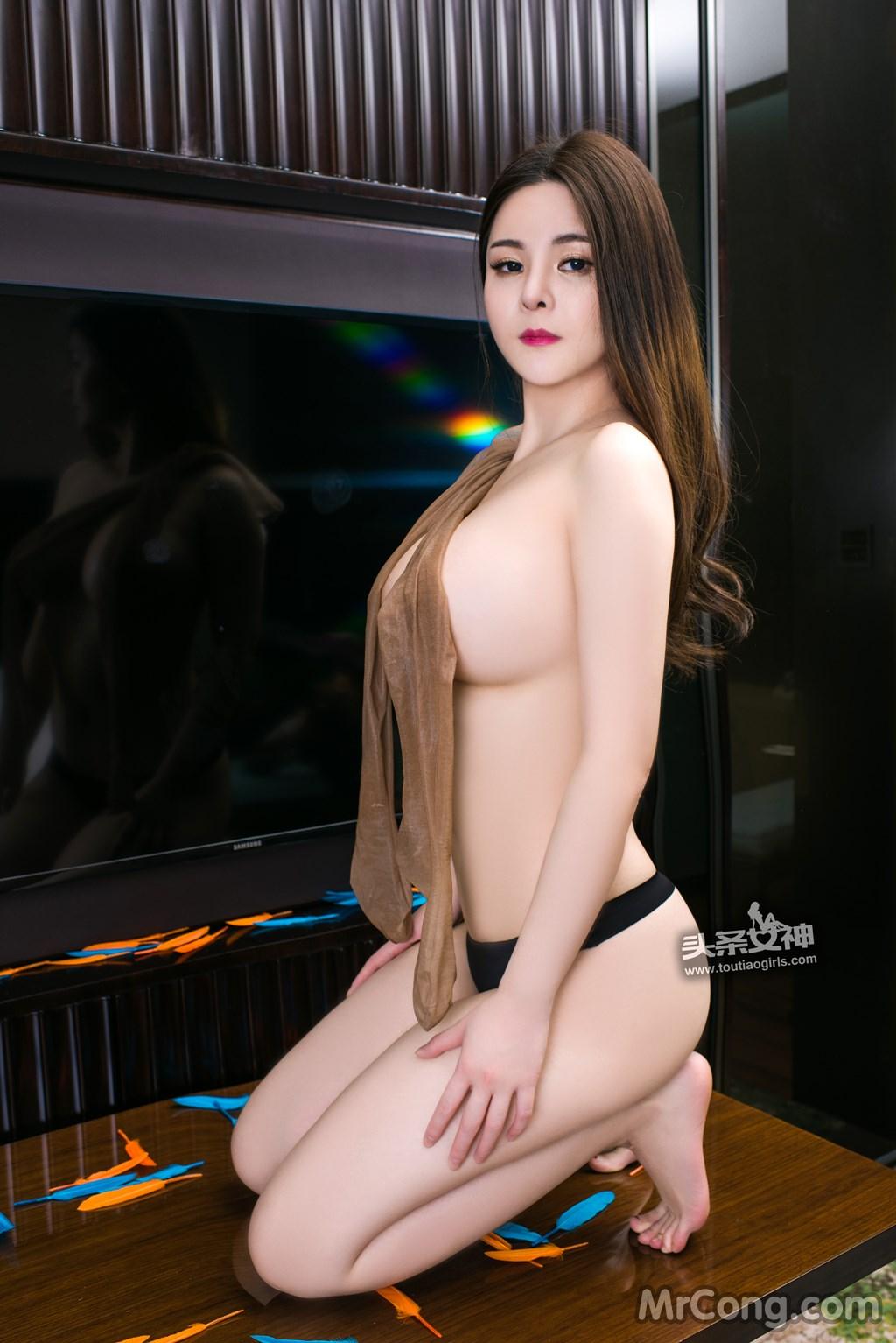 Image MrCong.com-TouTiao-2017-02-11-Tong-An-Qi-019 in post TouTiao 2017-02-11: Người mẫu Tong An Qi (童安琪) (27 ảnh)