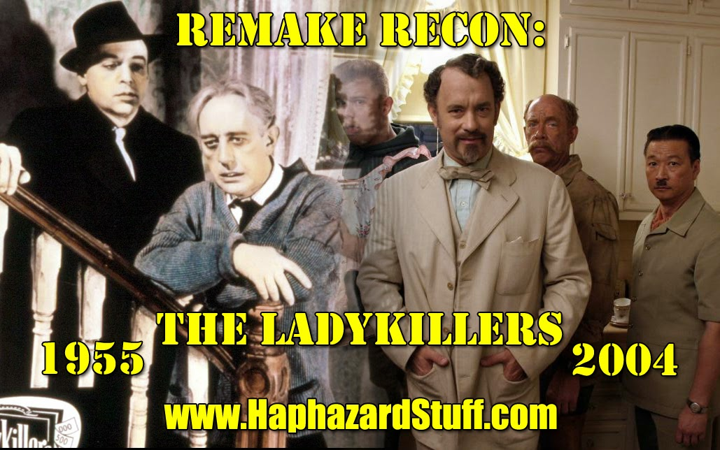 The Ladykillers Remake Recon 1955 2004