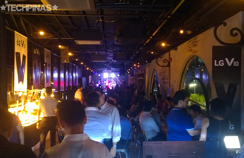 LG V10 Launch, The Brewery at The Palace
